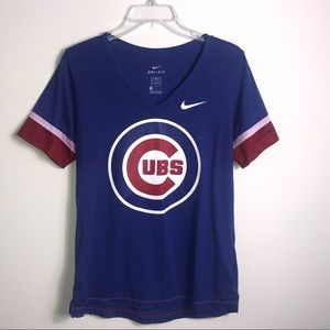 Nike Dri-Fit CUBS V Neck Tee